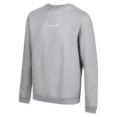 Men's Sweatshirt- Grey - Monaco Ready   Zanouchi - S