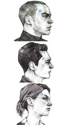 DBH the ppl 2/3 Quantic Dream, Detroit Become Human Connor, Becoming Human, Memes, Pencil Art Drawings, Human Art, Game Art, Art Inspo, Video Games
