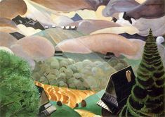 Pejzaż przedwiosenny (Snop światla), 1926 by Rafal Malczewski Graphic Portfolio, Portfolio Design, 1920s Art, Fairy Dust, Map Art, Landscape Paintings, Landscapes, Love Art, Online Art