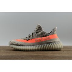 new product 79515 bc350 2017 Adidas Originals Yeezy Boost 350 V2 Beluga Steel GrisBeluga-Solar  Rojo BB1826