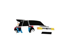 Design your everyday with prints you'll love. Cover your walls with artwork and trending designs from independent artists worldwide. Cool Car Drawings, Automotive Art, Rally Car, Illustration Sketches, Graphic Design Posters, Peugeot 205, Cool Artwork, Art Cars, Cool Cars