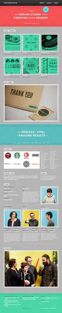 Hum Creative — Design Studio http://humcreative.com