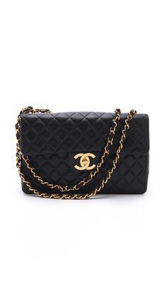 WGACA Vintage Vintage Chanel Jumbo Bag Vintage Chanel c3f9d0f96e806