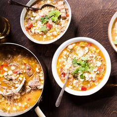 Mississippi superchef and pro tailgater John Currence's pork posole not only serves to fight off chilly weather, but is also perfect when cooking for a crowd.
