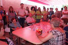 El triángulo » VI Olimpiada de Alzheimer en el centro de día de Onda http://www.eltriangulo.es/contenidos/?p=64959