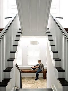 Stair lifts up to reveal secret room