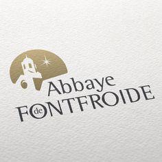 """Abbaye de Fontfroide"" #logo by Defacto"