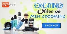 Today your best offer on #Qpon! Get up to 30% off on Men's #Grooming!