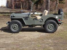 No Reserve: 1949 Willys CJ-3A