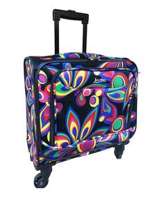 Look what I found on #zulily! Flower Jourdan Rolling Carry-On by Kemyer #zulilyfinds