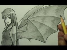"""▶ How to Draw Demon Wings (""""Bat-Like"""") - YouTube"""