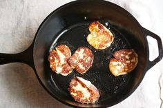 Grilled Halloumi from Big Girls Small Kitchen