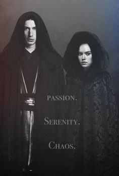 Kylo and Rey as Master and Apprentice