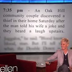 Never underestimate the power of a joke…