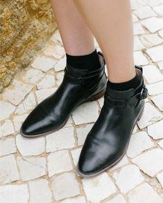 4de180d6ee4 Madewell Hollis Boot in true black.  wellheeled Boot Shop