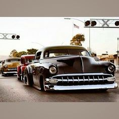 Sweet with a 54 Chevy Grill.
