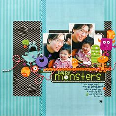 Doodlebug Design Inc Blog: Non-Halloween Projects using Monster Mania