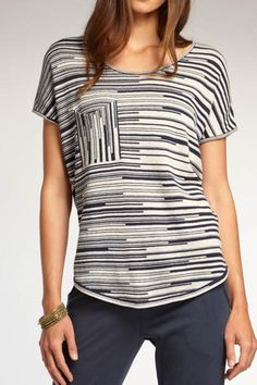 Soft loose knit for cool comfort. Wear it with jeans or soft draped pants or shorts - at home or at the beach with a floppy sunhat! Fair trade, low impact dyes - ethically created by Indigenous in Peru. Soft Knit Tee by INDIGENOUS ORGANIC, FAIR TRADE FASHION. Clothing - Tops Colorado