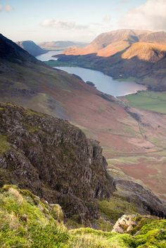 Looking down Buttermere, Cumbria, EnglandbyTall Guy