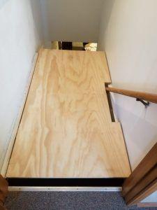 cheap basement ideas #basementremodelgrey #basementbathroombeforeandafter Stairway Storage, Basement Stairway, Over Stairs Storage, Hallway Storage, Basement Storage, Kids Storage, Storage Area, Extra Storage, Basement Renovations