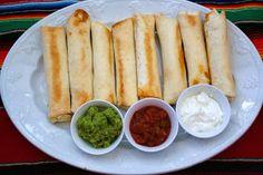 Meal Planning 101: Shredded Chicken Flautas