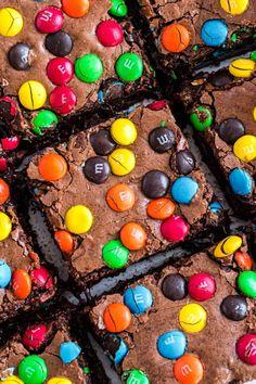 Pecan Brownies Recipe, Decadent Brownie Recipe, M M Brownies, Walnut Brownie Recipe, Classic Brownies Recipe, Peanut Butter Brownies, Chocolate Caramel Brownies, Chocolate Morsels, Chocolate Treats