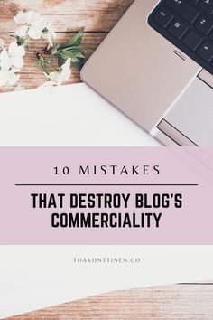 10 MISTAKES THAT DESTROY BLOG'S COMMERCIALITY I In this post, I'll go through 10 mistakes that destroy blog's commerciality. It has been a long time since just about anything was written on the blog, and blurry, dark pictures accompanied the text. So are you ready to find out the 10 mistakes that destroy blog's commerciality? #blogging #bloggingtips #profitable blog #tiiakonttinen Make Money Blogging, Make Money Online, How To Make Money, How To Start A Blog, How To Find Out, Dark Pictures, Free Blog, Blogging For Beginners, Mistakes