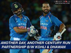 Virat Kohli & Shikhar Dhawan has made the mockery of South African bowlers once again #SAvIND #INDvSA #PinkODI - facebook.com/MyCricketTrolls