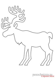 window cut stencil, Christmas Deer Pictures to Color, Christmas Coloring Page, FREE Coloring Page Template Printing Printable Christmas Coloring Pages for Kids, Christmas Deer Christmas Paper, Christmas Colors, Kids Christmas, Christmas Crafts, Christmas Decorations, Christmas Ornaments, Christmas Templates, Christmas Printables, Diy Halloween