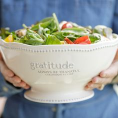Gratitude Bowl - always be thankful $48.
