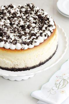 עוגת גבינה אפויה עם עוגיות שוקולד-- צריך להמיר את עוגיות האוריאו לעוגיות נטולות גלוטן