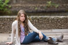 Jenna Senior Portrait Photography by TréCreative Film Photos by TréCreative Film