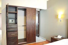 Todas las suites cuentan closet, T.V. y caja de seguridad