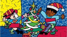 By Romero Britto for Pátio Brasil Shopping  #Brazil