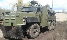 ZiL-131 gun truck, Novorussia Militia, Donbass Region
