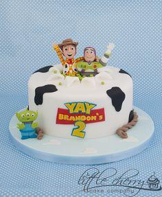 Toy Story Cake - by littlecherry @ CakesDecor.com - cake decorating website