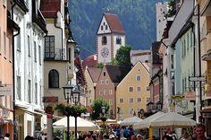 Füssen, Deutschland (y el castillo)