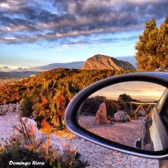 Vistas de Denia. El Montgó desde el Cabo de San Antonio #denia #costablanca