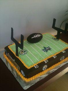 Superbowl cake.