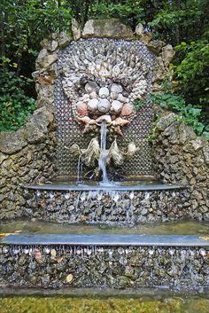 Domaine de Sceaux . Fountain