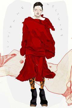 Anna-Milada-Vivienne-Westwood-Fall-2016