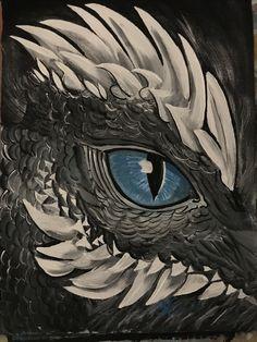 Eye Painting, Pallet Painting, Stone Painting, Dragon Tattoo Drawing, Dragon Anatomy, Dragons, Dragon Sketch, Dragon Artwork, Robot Concept Art