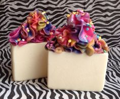 Luxurious Cold Process Artisan Soap Sweet & Yummy by MilancoSoaps, $5.00
