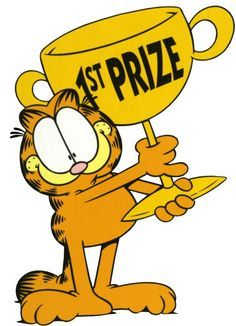 Garfield- wins first prize for making me laugh. Garfield Pictures, Garfield Quotes, Garfield Cartoon, Garfield And Odie, Garfield Comics, A Cartoon, A Comics, Cartoon Characters, Garfield Wallpaper
