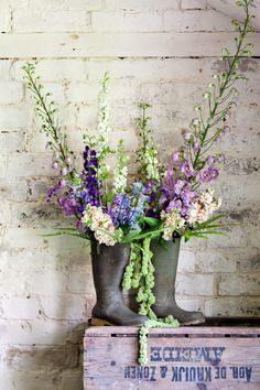 Katie Spicer Photography Kate Avery Flowers Delphinium Wellies.jpg