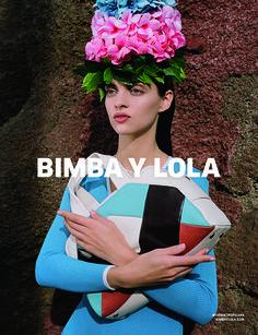 BIMBA Y LOLA SS2015 CAMPAIGN #THISISTROPICANA Photographed by Synchrodogs www.bimbaylola.com