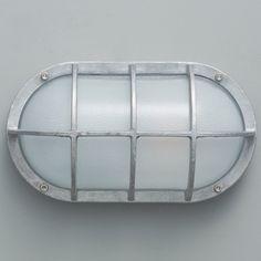 Ovale Decksleuchte mit Glasgitter 8122 von Davey Lighting Davey Lighting, Led, Messing, Aluminium, Decor, Lattices, Pear, Decoration, Decorating