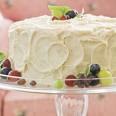 Ultimate Vanilla Buttercream Frosting   If you love lots of frosting, double the recipe.