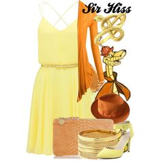 """""""Sir Hiss"""" by amarie104 on Polyvore"""