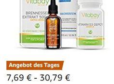 Amazon: Nahrungsergänzungsmittel für einen Tag rabattiert zu haben https://www.discountfan.de/artikel/essen_und_trinken/amazon-nahrungsergaenzungsmittel-fuer-einen-tag-rabattiert-zu-haben.php Nahrungsergänzungsmittel sind jetzt bei Amazon für einen Tag zu reduzierten Preisen zu haben: Insgesamt sind 44 Produkte verbilligt, darunter Vitamin-D3-Depots und Brennessel-Kapseln. Amazon: Nahrungsergänzungsmittel für einen Tag rabattiert zu haben (Bild: Amazon.de) Die... #Er